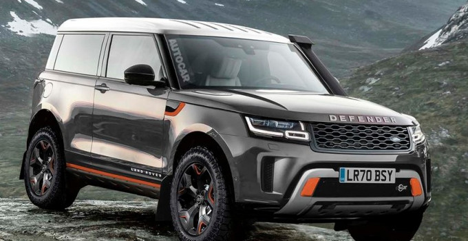 2021 Land Rover Defender Exterior