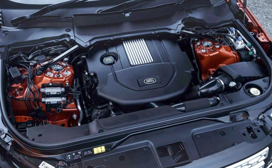 2021 Land Rover Discovery 5 Engine