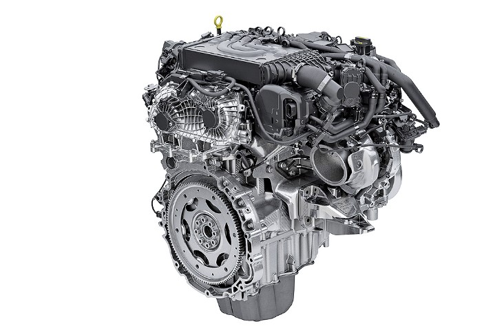 2021 Land Rover Discovery Sport Engine