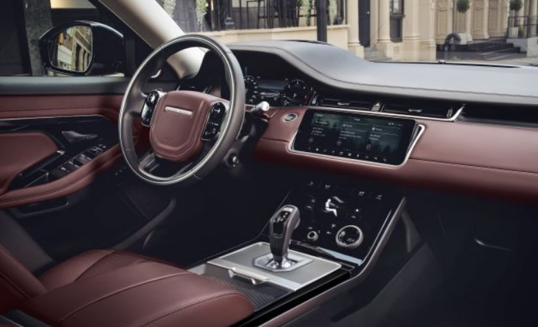 2021 Land Rover Range Rover Evoque Interior