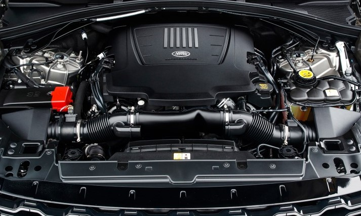 2021 Land Rover Range Rover Velar Engine