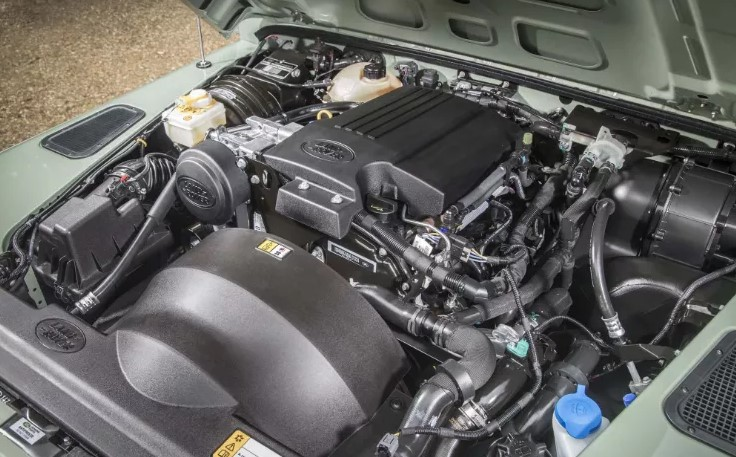 2021 Land Rover Defender Engine