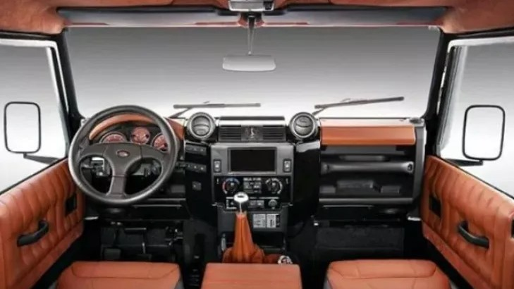 Land Rover Defender 2021 Interior