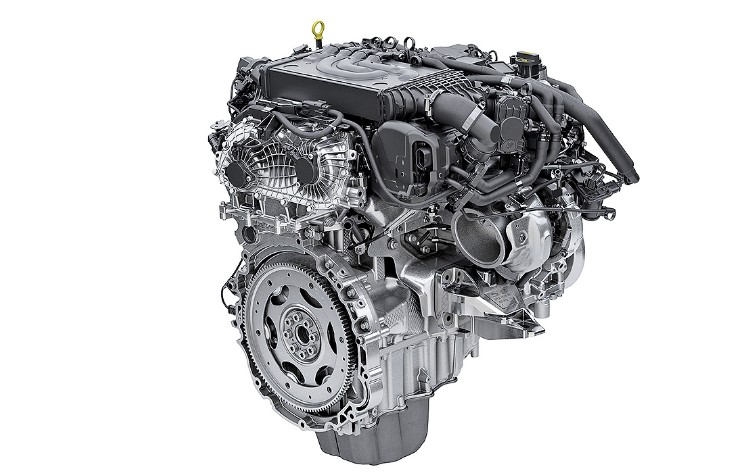 2021 Land Rover Range Rover Evoque Engine