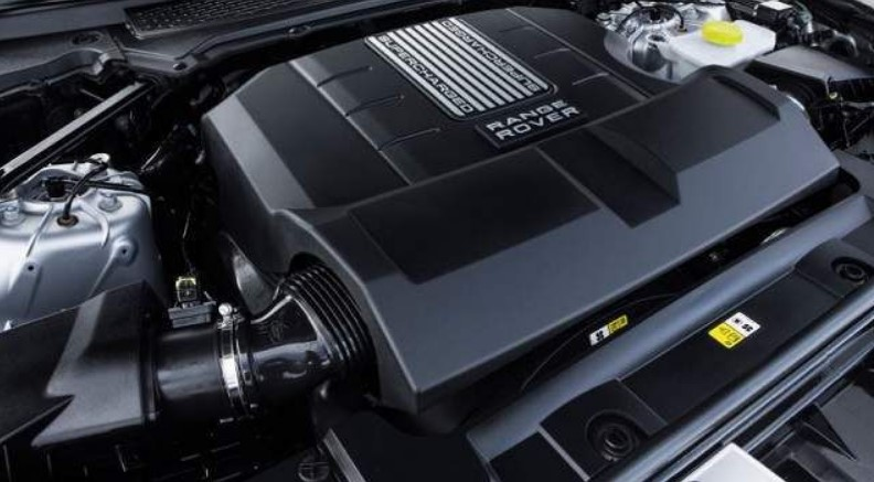2021 Range Rover Vogue Engine