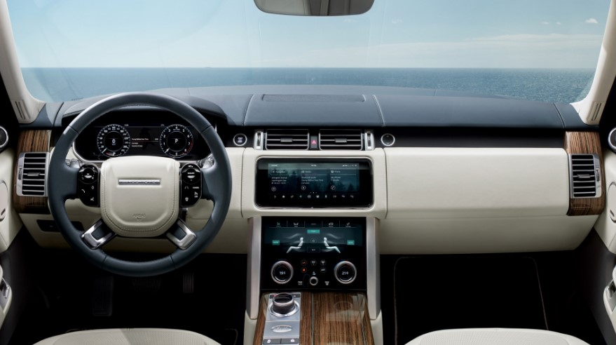 2021 Range Rover Vogue Interior