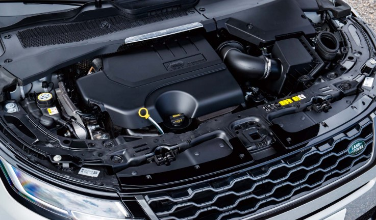 2021 Range Rover Evoque Hybrid Engine